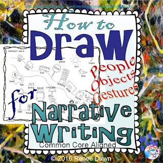 https://www.teacherspayteachers.com/Product/How-to-Draw-for-Narrative-Writing-2315851