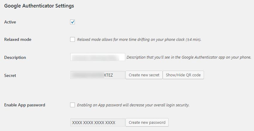 Pengaturan Google Authenticator