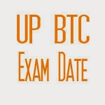 UP BTC Exam Date 2015