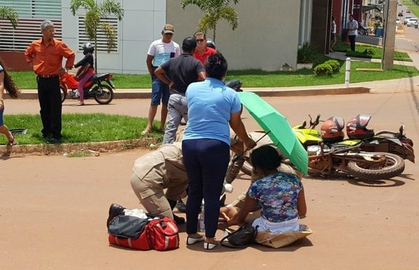 Colisões entre carros e motos deixam motociclistas feridos em Rolim