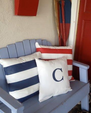 homemade outdoor pillows