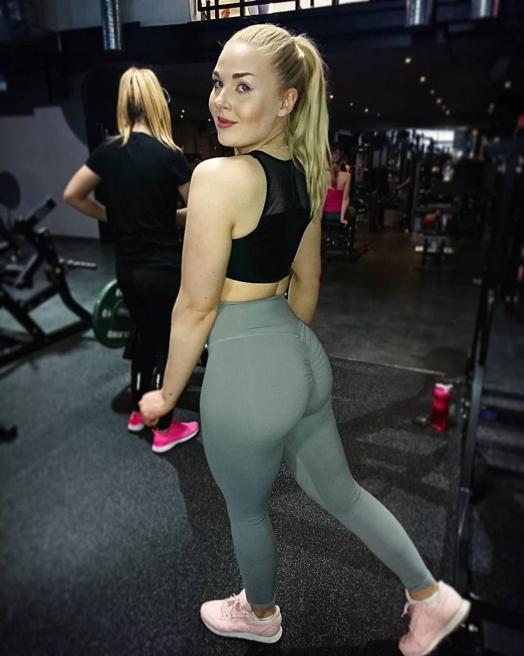 Swedish Fitness Carolina Johansson