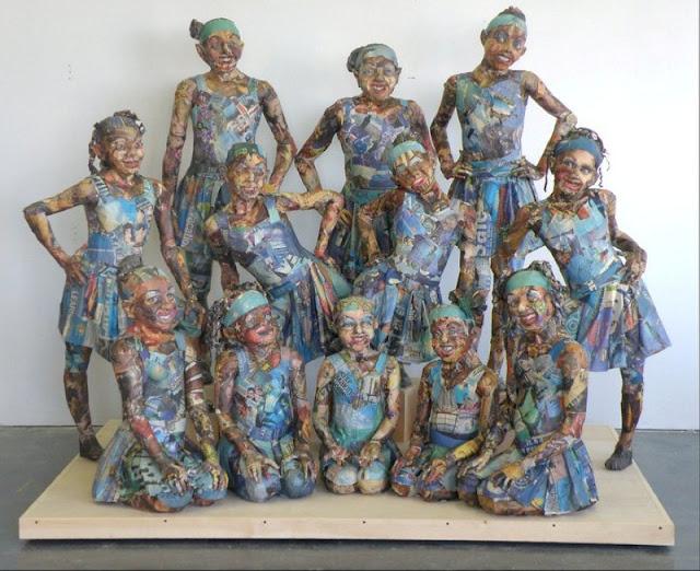 Скульптуры из мусора Уилла Курца 3