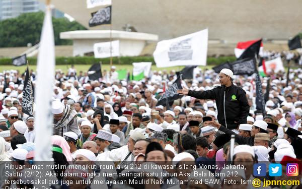 PA 212 Kocok Ulang Capres dan Cawapres Penantang Jokowi