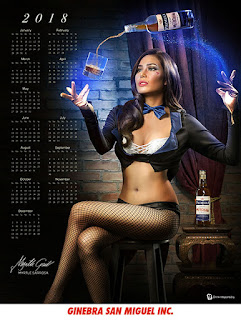 Martyle Sarossa is the great and sexy magician.