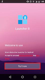 تحميل وتثبيت لانشر ويندوز 8 Windows على اندرويد مجانا
