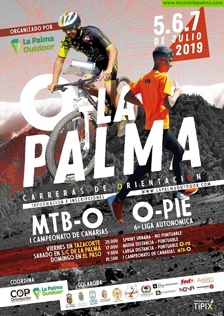 La tercera edición de la carrera O-LA PALMA 2019 en Santa Cruz de La Palma