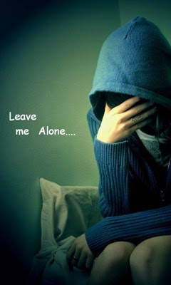 Leave me alone 240x400 sad girl mobile wallpaper - Leave me alone wallpaper ...