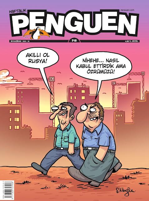 Penguen Dergisi - 30 Haziran 2016 Kapak Karikatürü