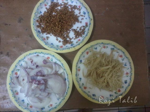 bahan Nasi Dagang Terengganu