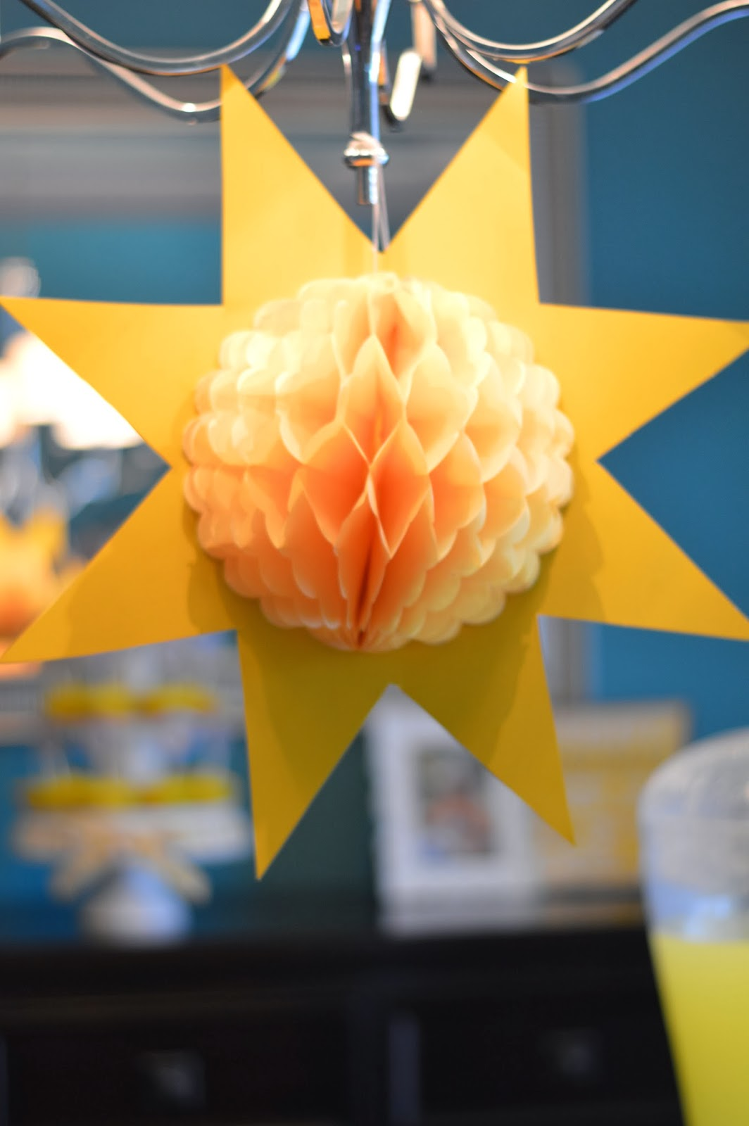 The Journey of Parenthood Sunshine Birthday Party Decorations