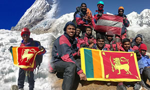 Sri Lankan Eleven Student Gone To Himala Hilltop