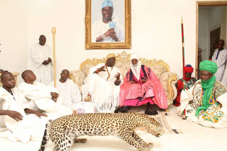 Ooni Of Ife Hosts Emir Of Kano, Lamido Sanusi In His Palace In Osun State (Pics)3