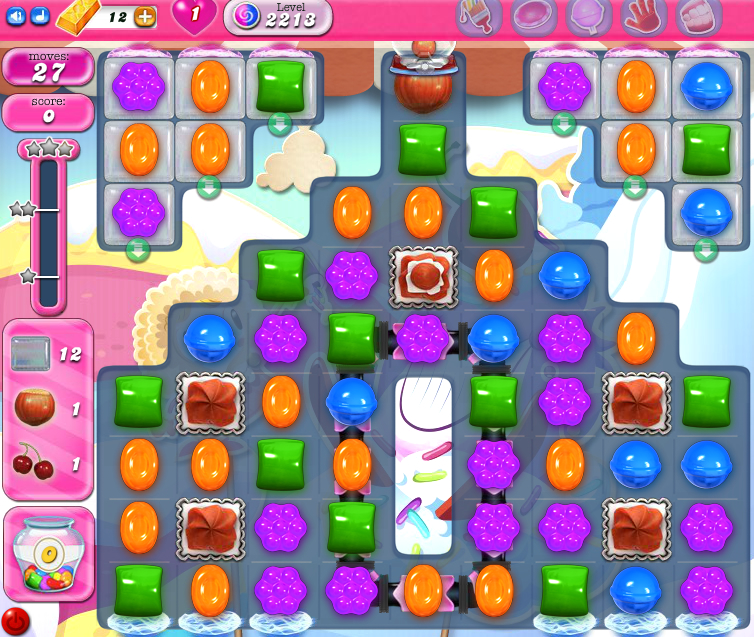 Candy Crush Saga level 2213