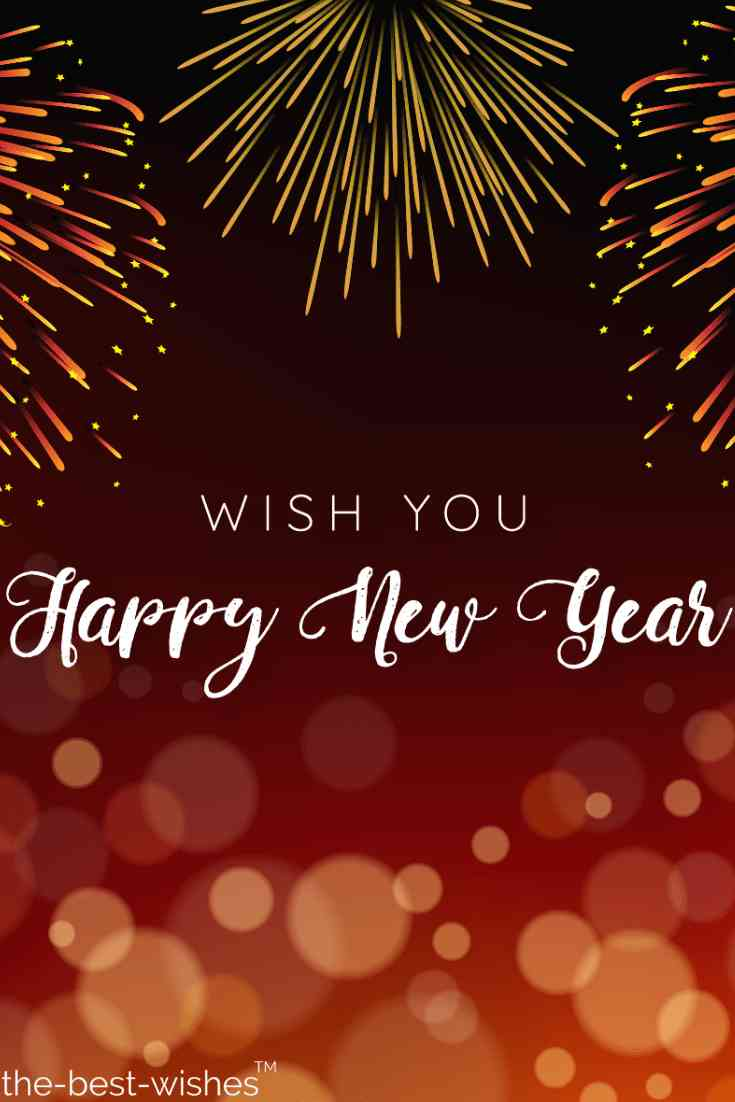 wish you happy new year hd images