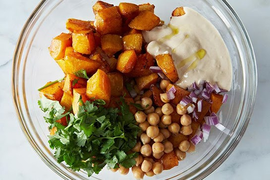 5-Ways-To-Cook-Pumpkin-Warm-Pumpkin-And-Chickpea-Salad