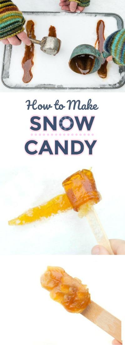 FUN KID PROJECT:  Make snow candy! #snowcandy #wintercraftsforkids #winteractivitiesforkids #howtomakesnowcandy #snowrecipeforkids