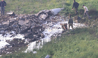 Ο συριακός στρατός κατέρριψε ισραηλινό F16