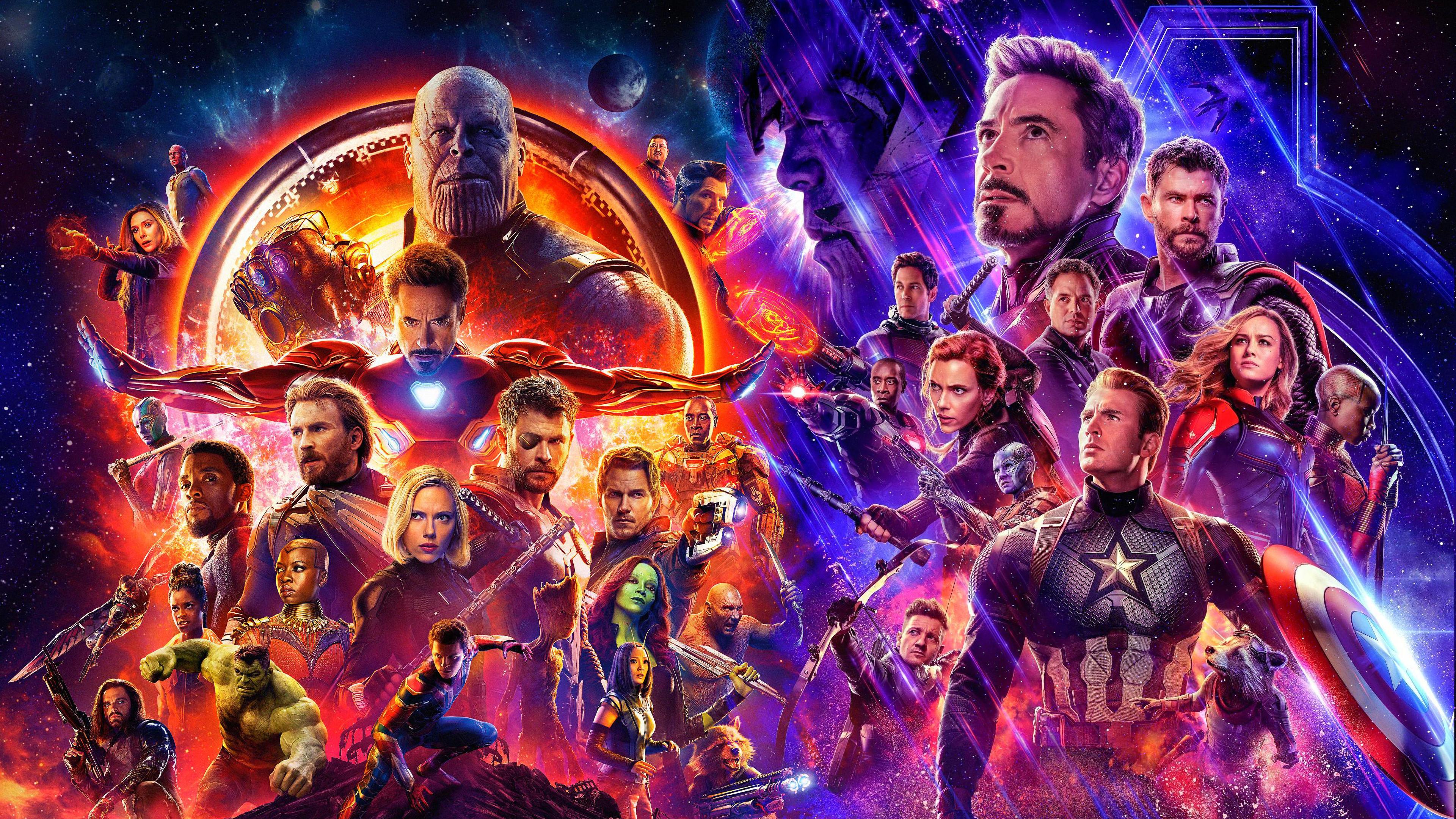 Avengers Endgame Movie Characters 4k Wallpaper 52