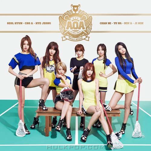 AOA – Heart Attack – EP (FLAC + ITUNES PLUS AAC M4A)