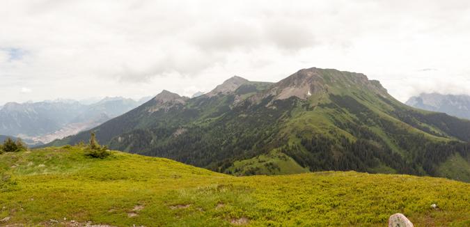 Blick vom Kragelschinken zum Wildfeld | Theklasteig | Eisenerzer Alpen Höhenweg