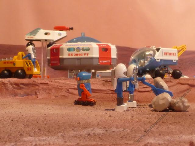 Diorama Playmobil Playmo Space