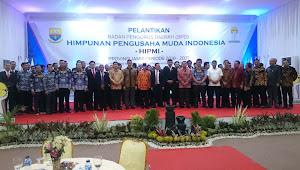 Pengurus HIPMI Provinsi Jambi Periode 2018-2021 Resmi Dilantik