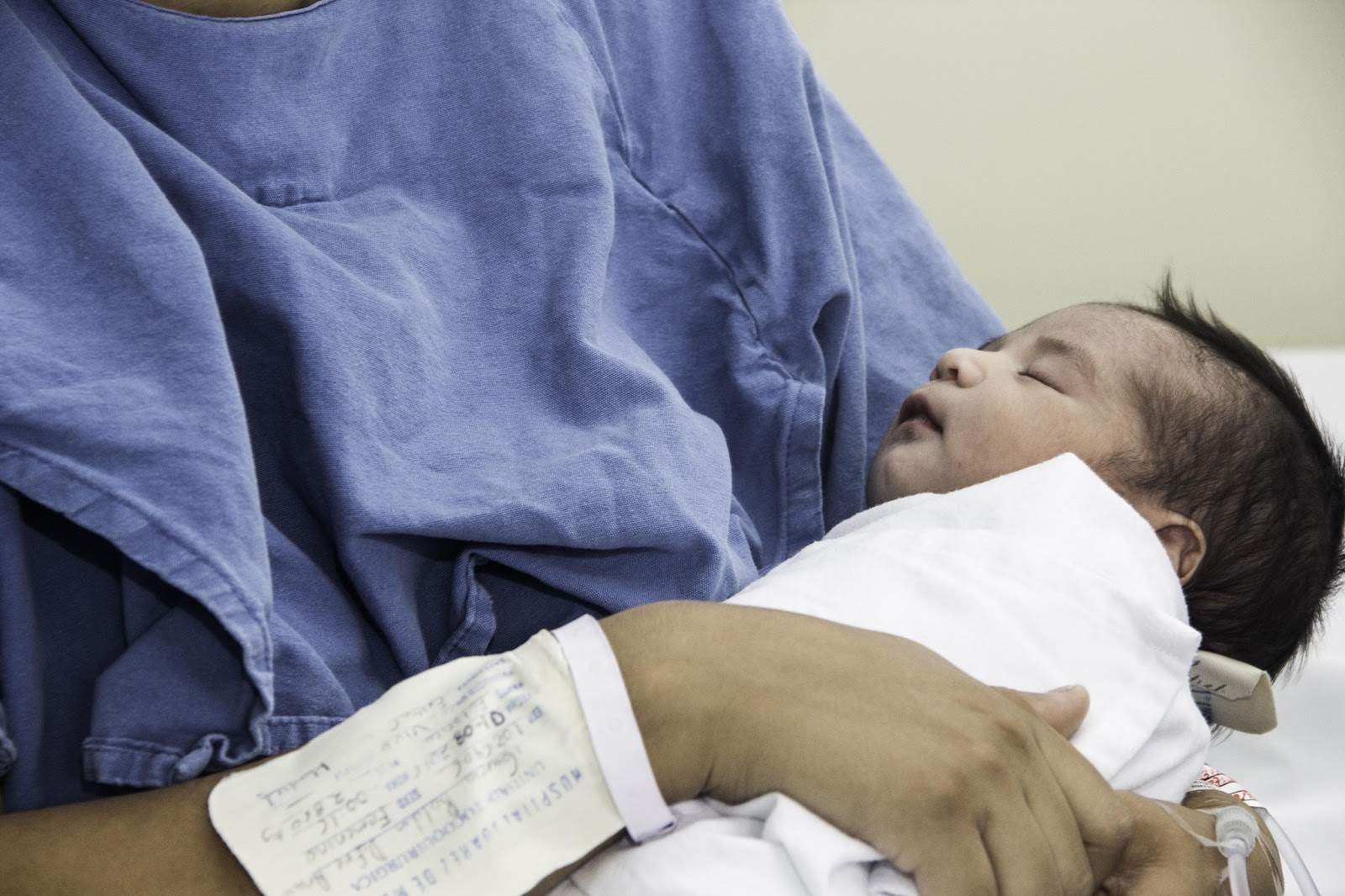 Nacen 3 bebés el primer día del 2017