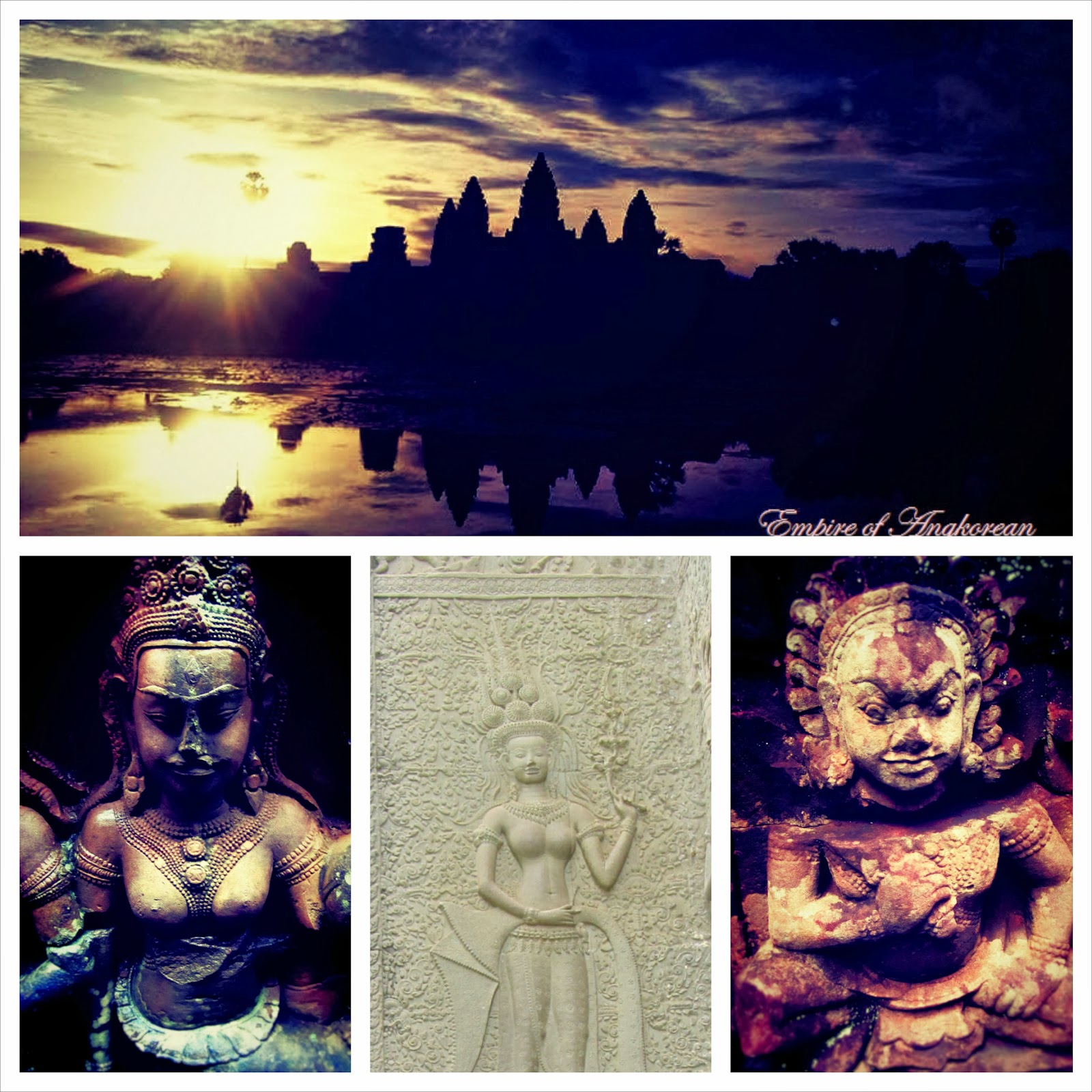empire knowledge angkor wat one of the seven wonders of the they can enjoy both khmer architectural styles and the sun set view in the evening as well the sun rise view in the early morning