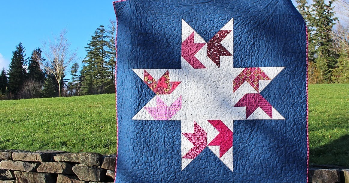 Starling Quilt with Fat Quarter Shop plus GIVEAWAY