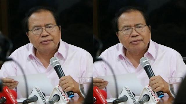 Soal Polemik Impor Beras, Rizal Ramli: Damai Tanpa Solusi Artinya Permisif Terhadap Korupsi