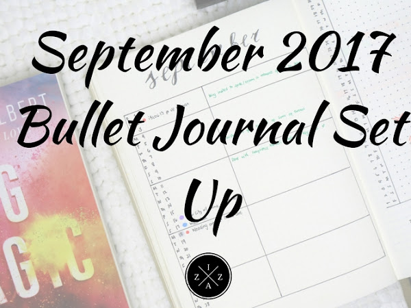 September 2017 Bullet Journal Setup Philippines