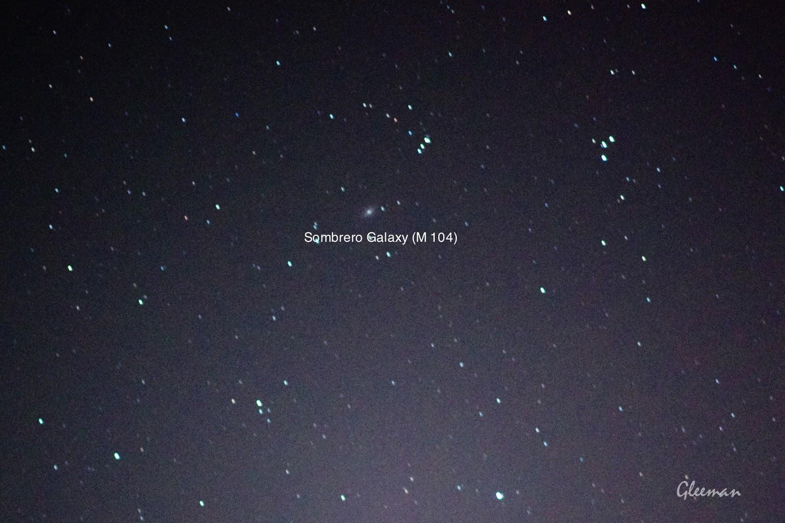 M104 闊邊帽(墨西哥帽)星系/ Pentax  K5 + Pentax O-GPS1 + DA*200