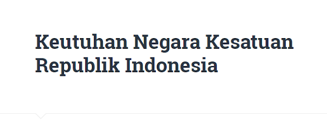Latihan Soal Keutuhan Negara Kesatuan Republik Indonesia