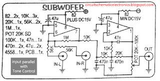 Subwoofer Module Amplifier Circuit Diagram