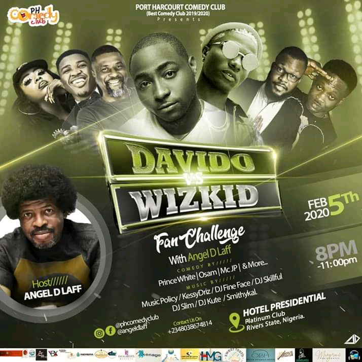 Upcoming Event!! Davido vs Wizkid (Live In Port Harcourt) February 2020