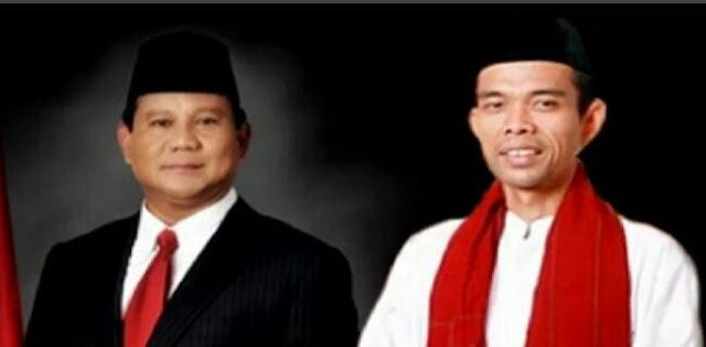 Prabowo Belum Buka Omongan Pilpres Ke UAS