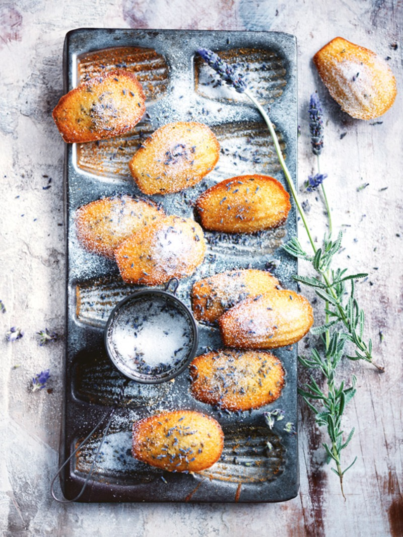 Lavender Madeleines Recipe - via BirdsParty.com