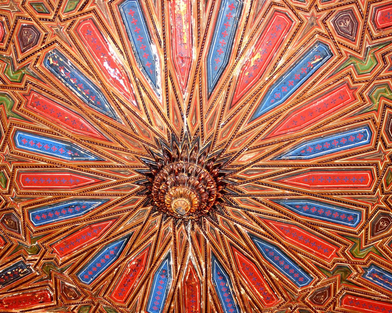 Alfarje del Palacio de los Condestables de Jaén