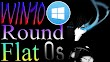 Round Flat Os [ Win10 Rs5 Pro X64 ] Full Version