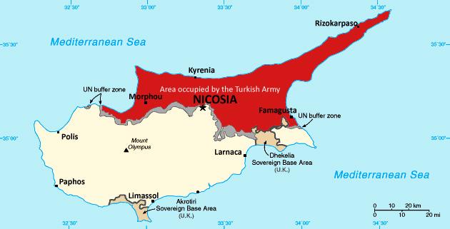 Eye On The World: Cyprus: Turkey blocks energy firm from ...