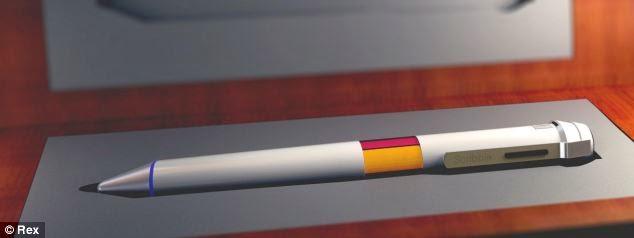 Scribble Pen, Pena Dengan 16 Juta Warna