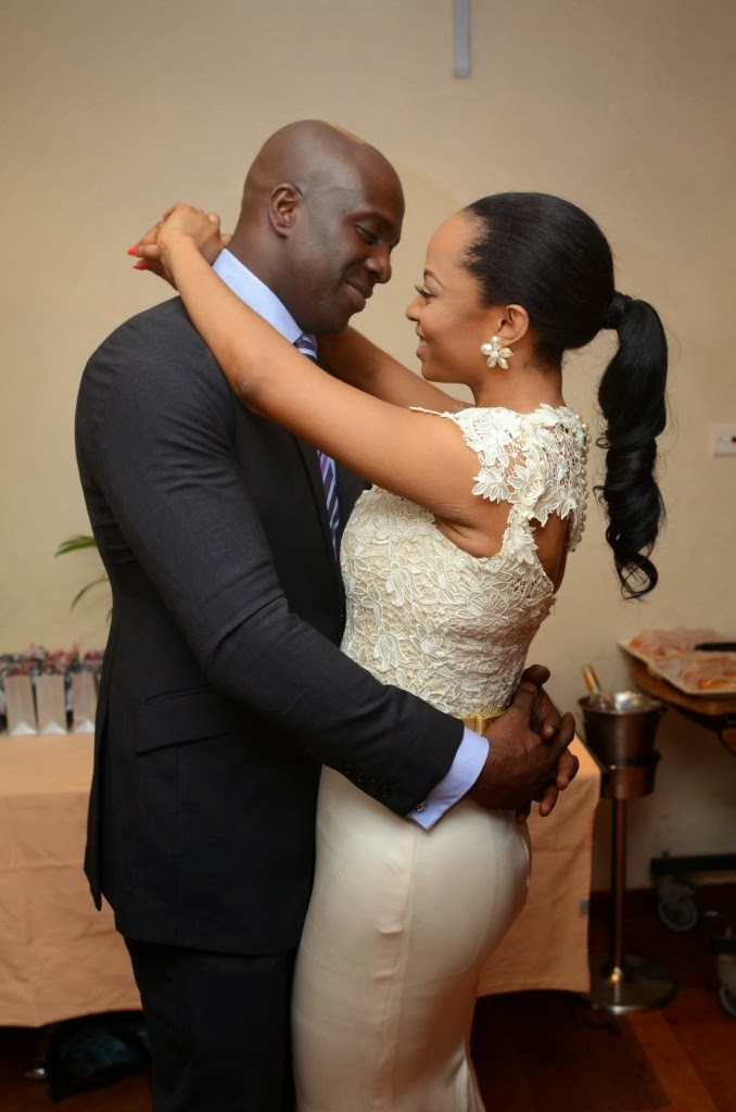 toke makinwa wedding fake
