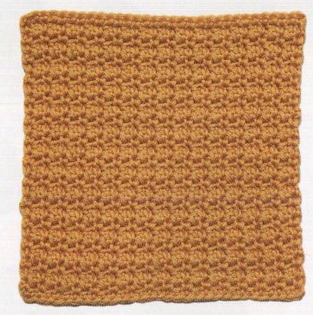 Patrón 950 Granny Texturas en Miniatura a Crochet
