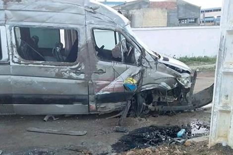قتيل و23 جريحا في حادثة سير بسيدي سليمان