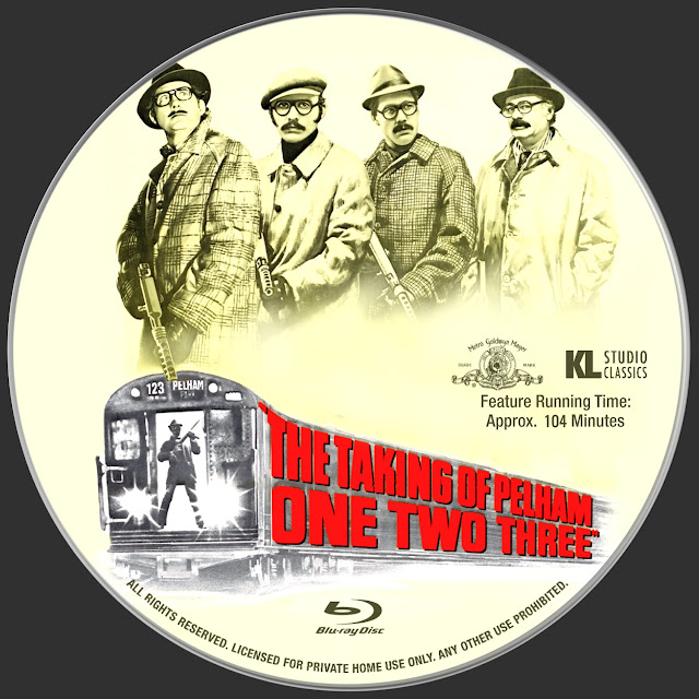 The Taking Of Pelham One Two Three Bluray Label