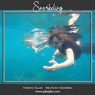 Snorkeling Belitung