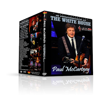 Paul McCartney in performance at white house.