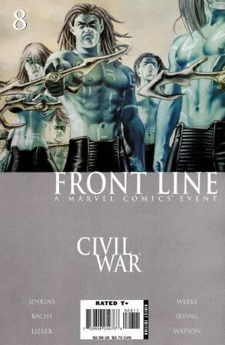 Civil War: Front Line #8 PDF