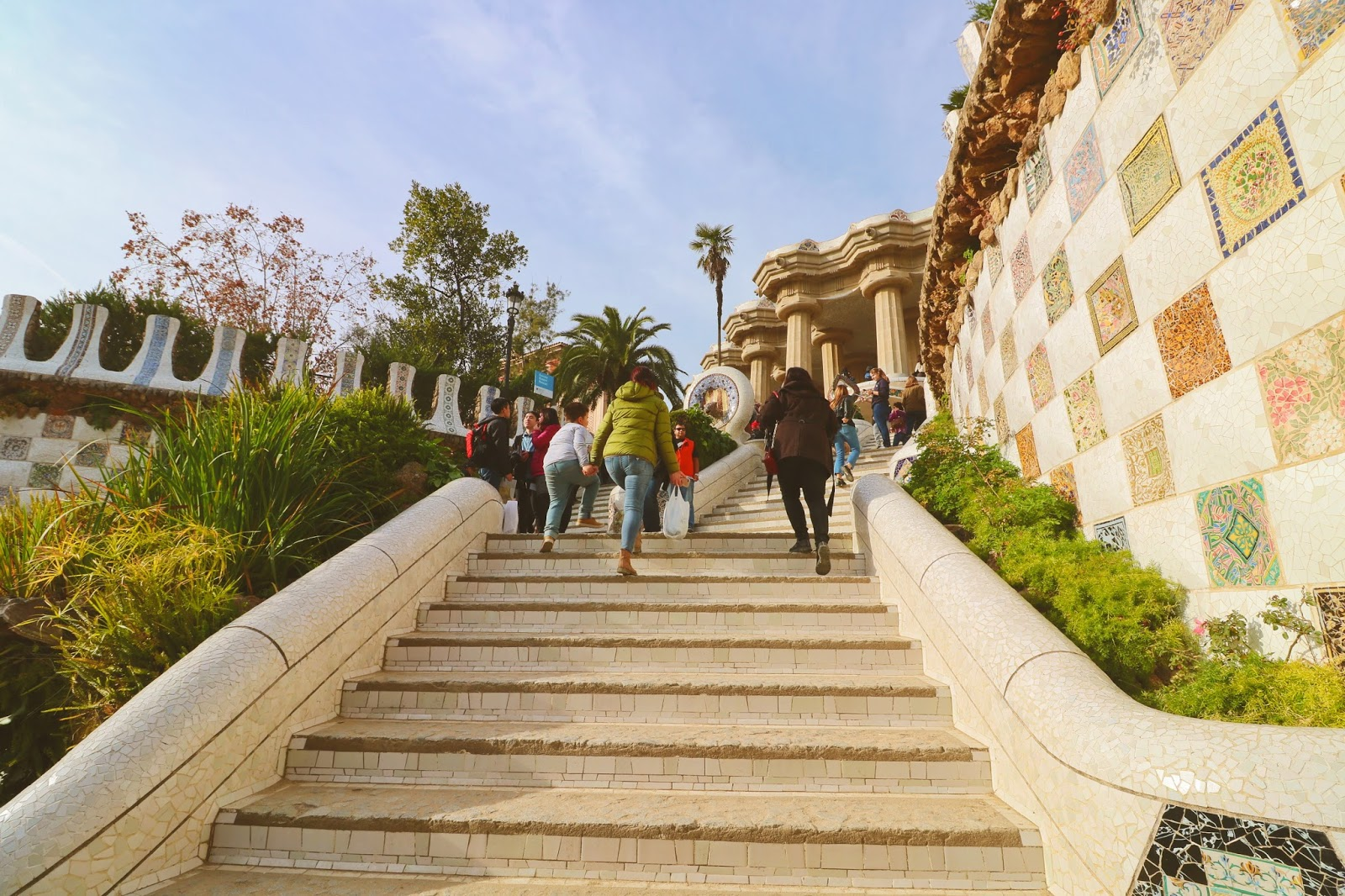 schody barcelona atrakcje